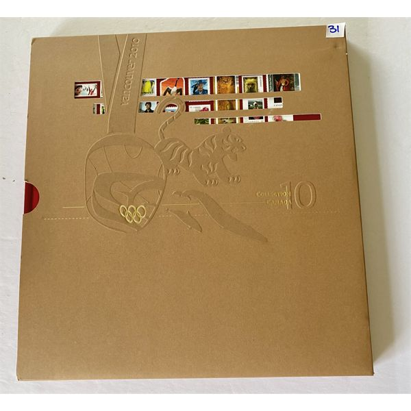 2010 COLLECTION CANADA BOOK - NEW YEARBOOK OF CANADIAN STAMPS
