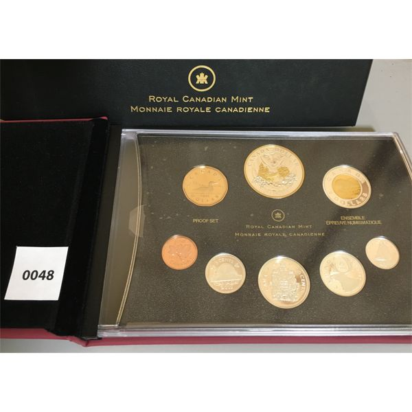 2011 RCM PROOF SET - 100 YEARS OF PARKS IN CANADA