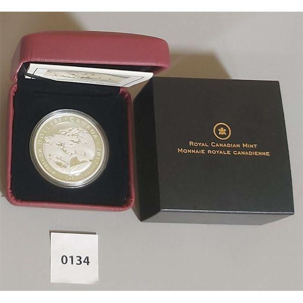 2012 $20 FINE SILVER COIN - FRANKLIN CARMICHAEL