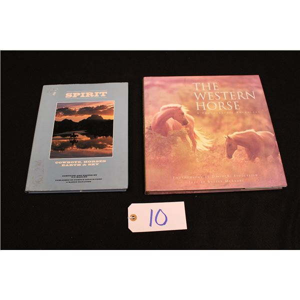 Set Of 2 Western Themed Books
