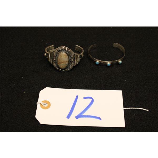Set Of 2 Native American Bracelets