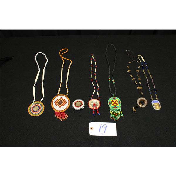Set Of 6 Beaded Necklaces