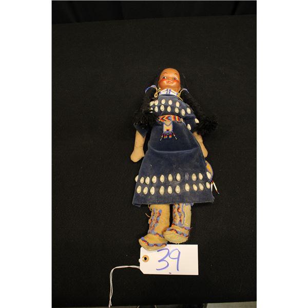 Plateau Beaded Doll