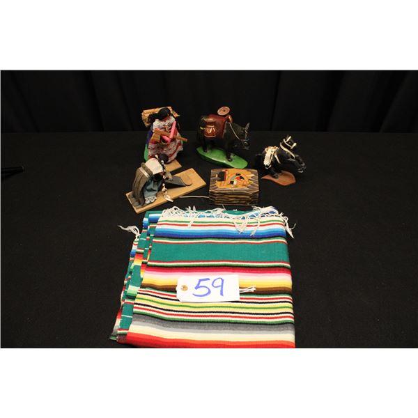 Mexican Folk Art & Serape