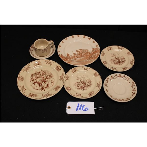 Inca Ware Dishes