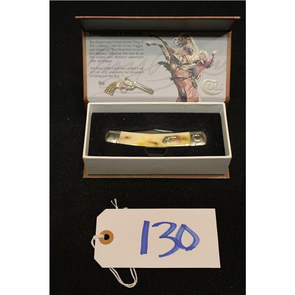 Colt Roy Rogers Commemorative Knife