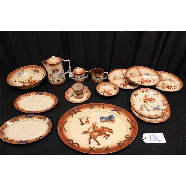 Western Scene Tinware