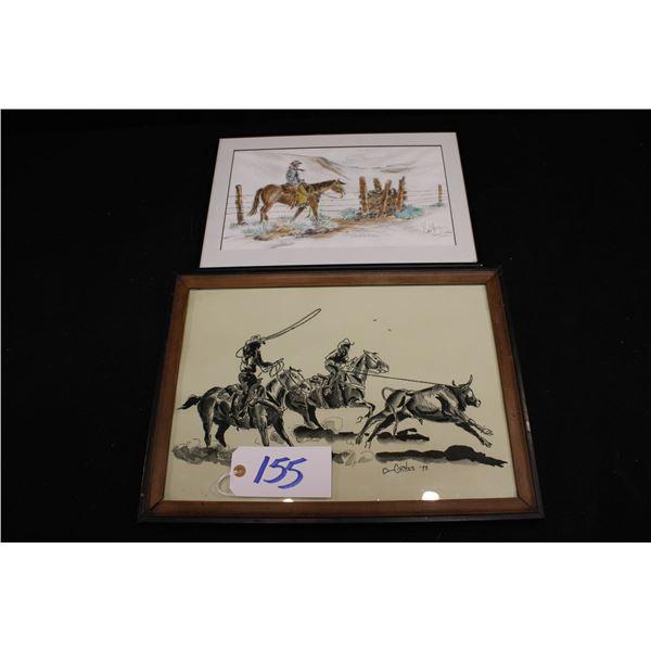 Paul Crites Original Drawings