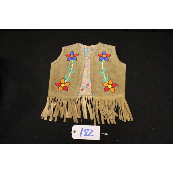 Child's Beaded Vest