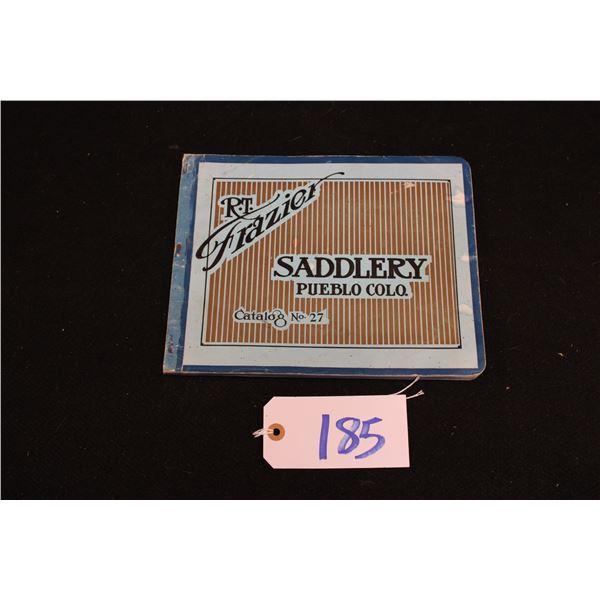 R.T. Frazier Saddlery Catalog #27