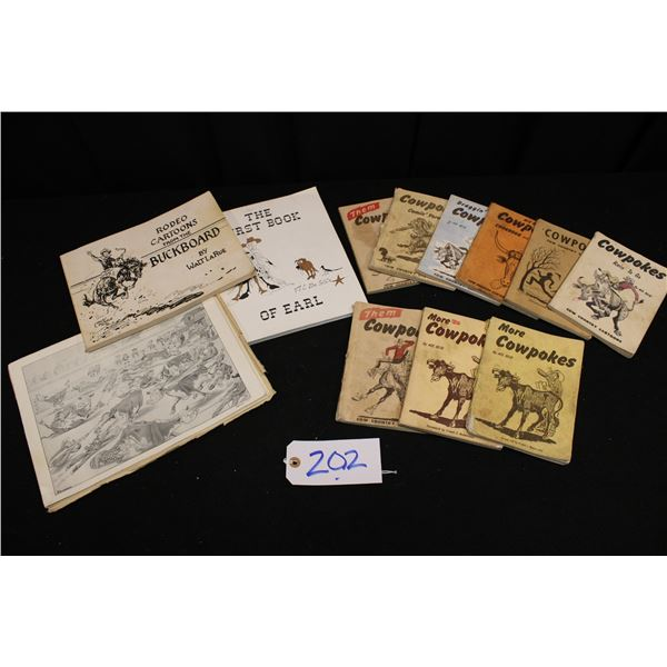 Cowboy Cartoon Books