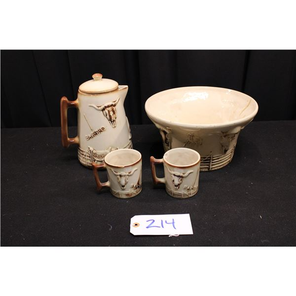 Lot Of Four Pottery Pieces
