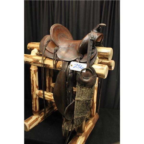 Old Working Saddle