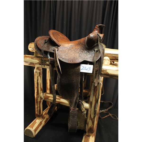 Texas Tanning And Manufacturing CO. Saddle