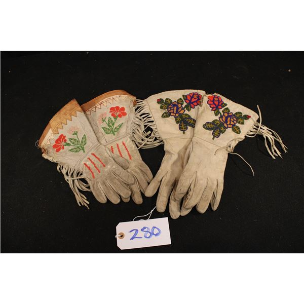 Two Pairs of Gauntlets