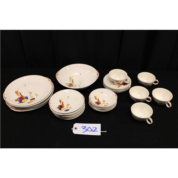 Padden City Pottery Pattern Dishes