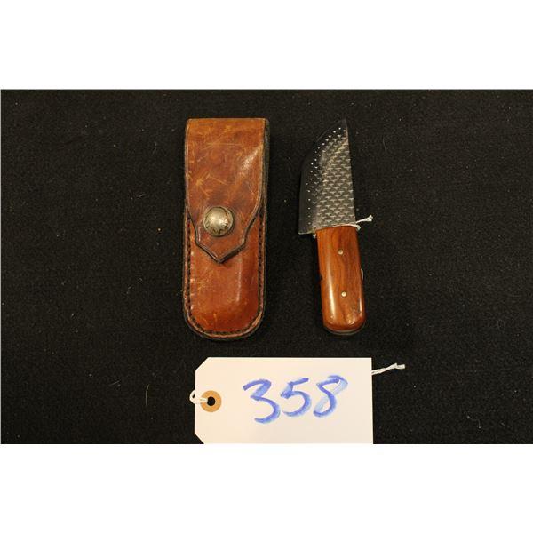 Horseshoe Rasp Knife