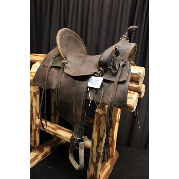Antique A-Fork Saddle