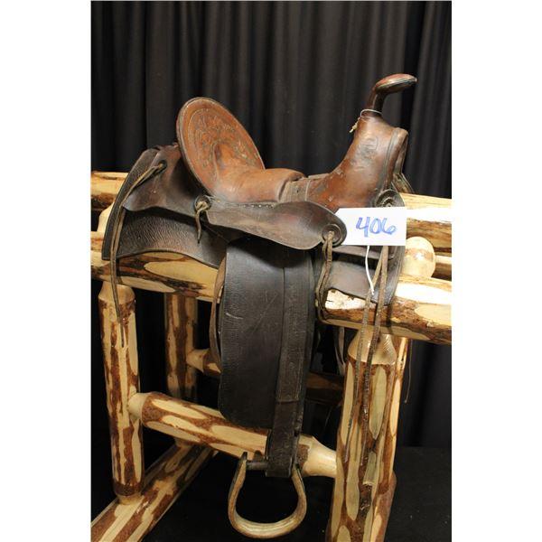 Old Western Saddle