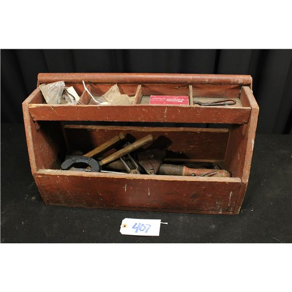 Farrier Tool Box With Tools