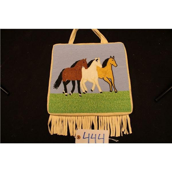 Beaded Plateau Bag