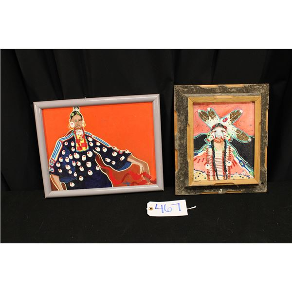 Two Original Jim Nelson Paintings