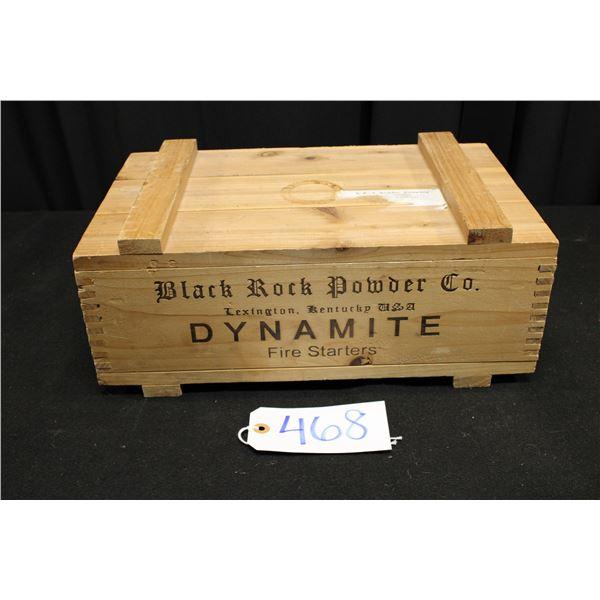Black Rock Powder Company Dynamite Box
