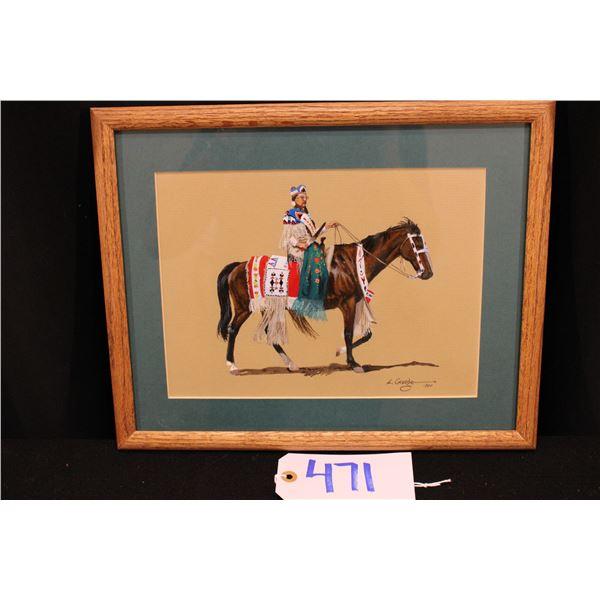 Original Larry George Painting