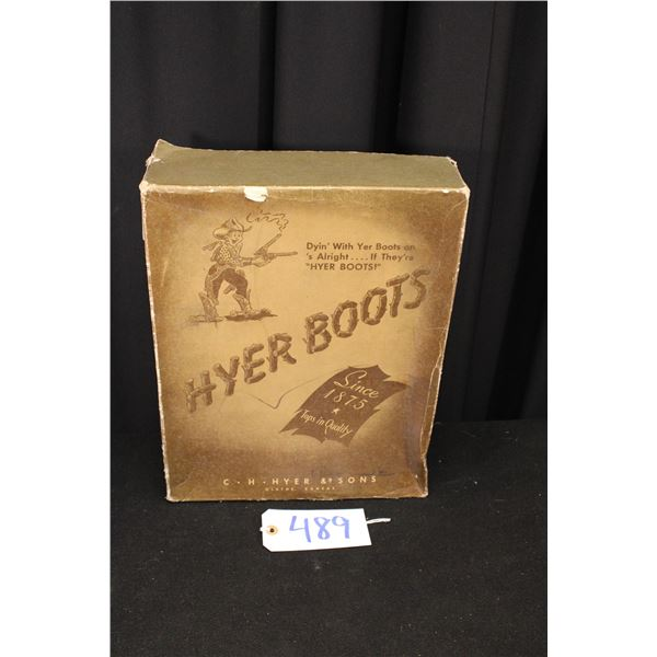 Hyer Boots Boot Box