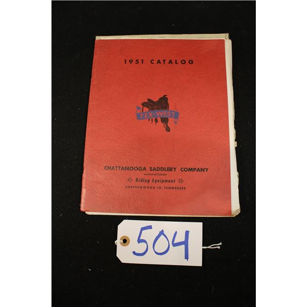Chattanooga Saddlery Co Catalog 1951