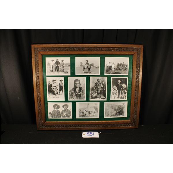 Lot Of Jackson Sundown And Related Photographs