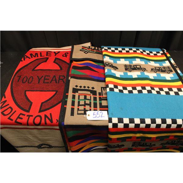 Hard Twist Pendleton Blankets