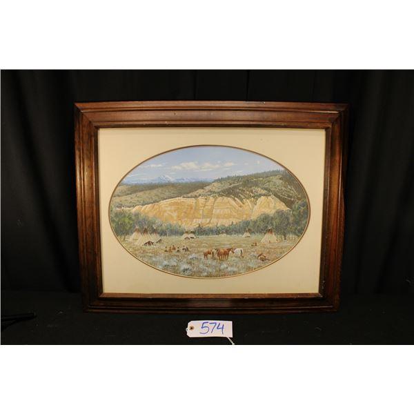 Duston Llyon Oil Painting