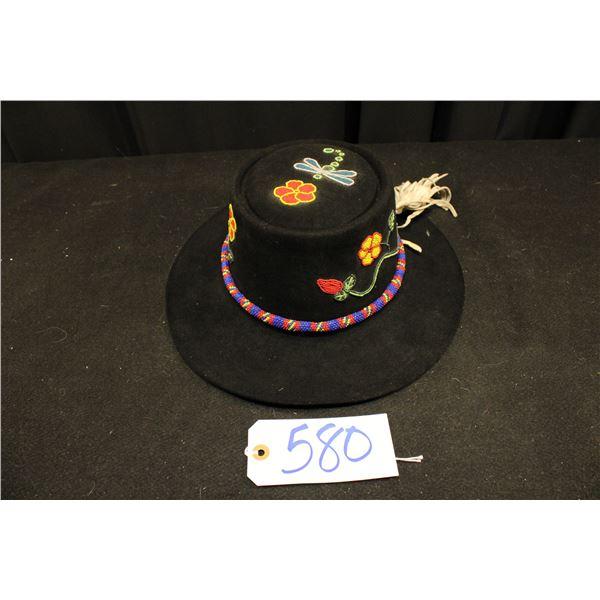 Beaded Plateau Hat
