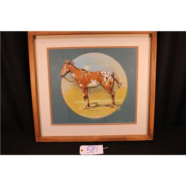 Buckeye Blake Painting