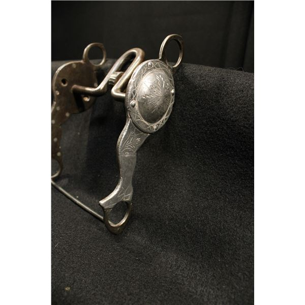 Unmarked Silver Mounted Bit