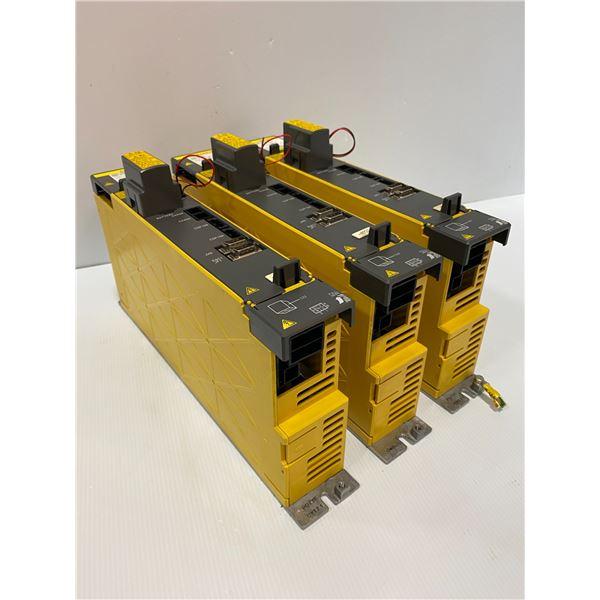 (3) - Fanuc A06B-6127-H102 aiSV 10HV Drives