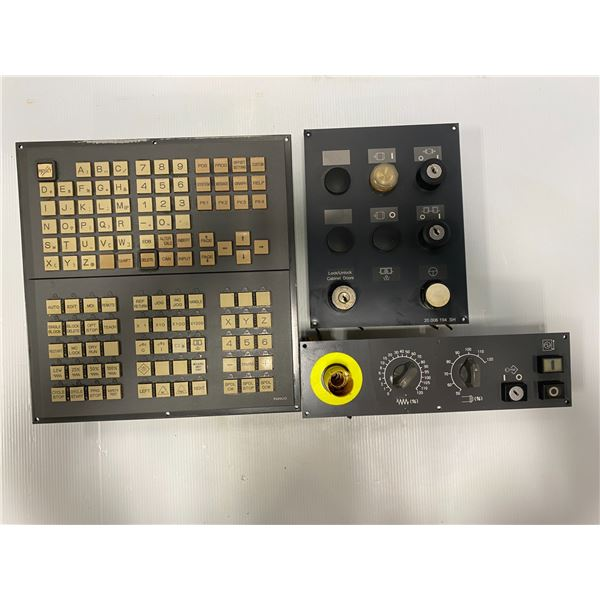 Lot of Fanuc Panels (see pics) A02B-0236-C240 / A02B-0236-C232