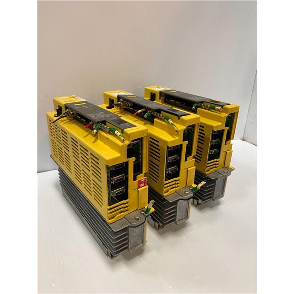 (3) - A06B-6089-H105 Servo Amplifier Units