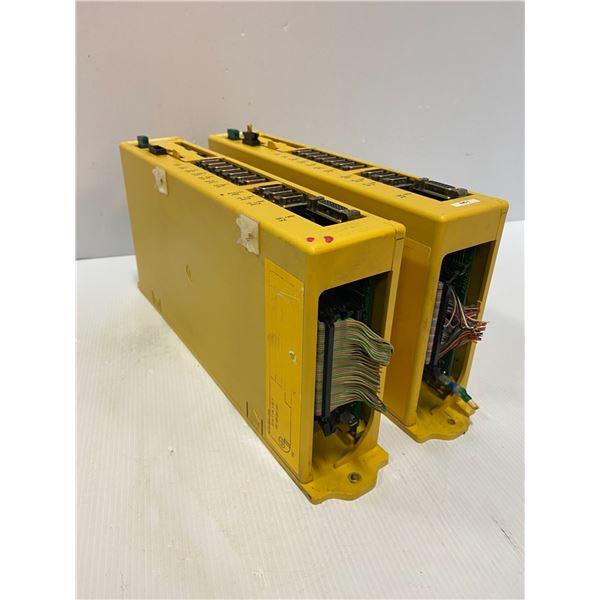 (2) - Fanuc A02B-0198-B501 Power Mate-Model F Drives