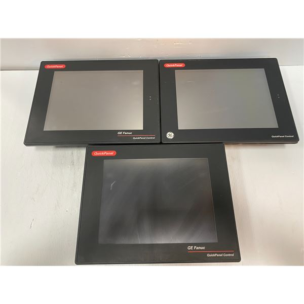 (3) - Fanuc Quick Panels (see photos for part numbers)