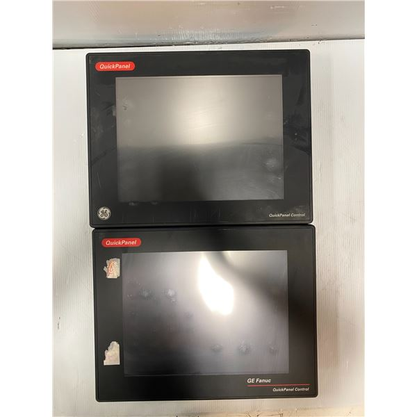 (2) - Fanuc Quick Panels (see photos for part numbers)
