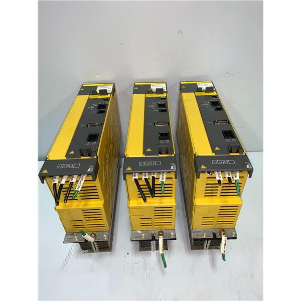 (3) - Fanuc A06B-6120-H011 Power Supply Modules