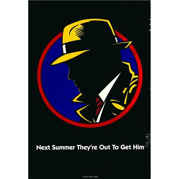 Dick Tracy 1990 original advance sheet poster