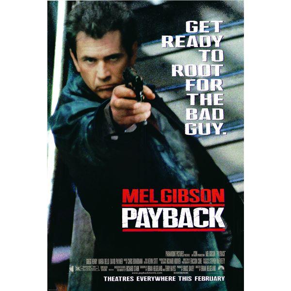Payback 1998 original one sheet movie poster