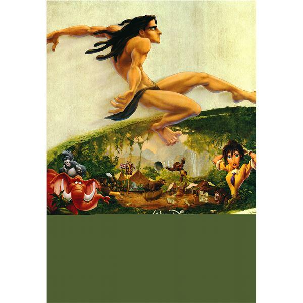 Walt Disney's Tarzan 1999 original one sheet poster