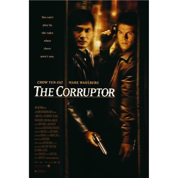The Corruptor 1999 original one sheet movie poster