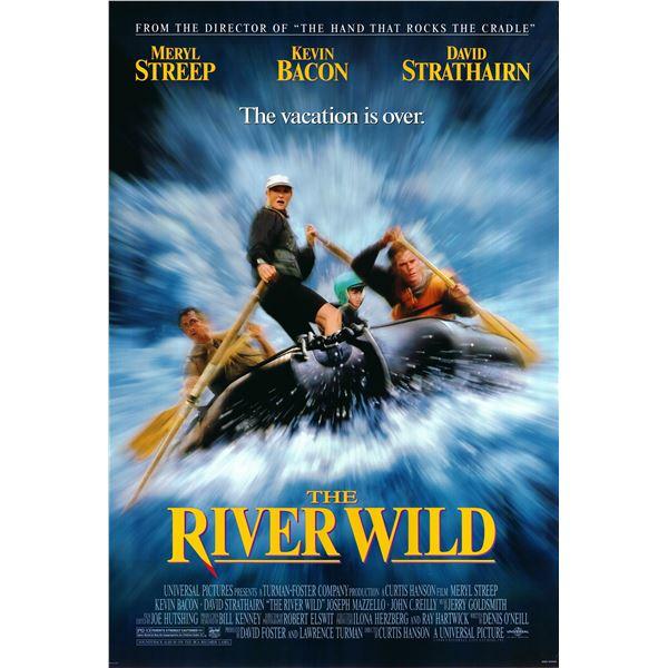 The River Wild 1994 original movie poster