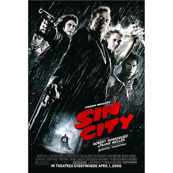 Sin City 2005 original one sheet movie poster