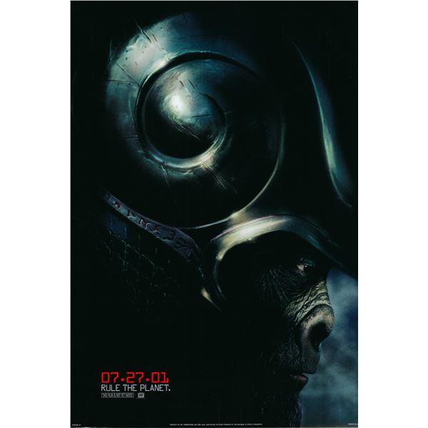 Planet of the Apes 2001 original movie poster